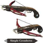 Hyrule Warriors Legends Crossbows Simple Crossbows (Render)