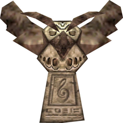 File:Activated Owl Statue (Majora's Mask).png