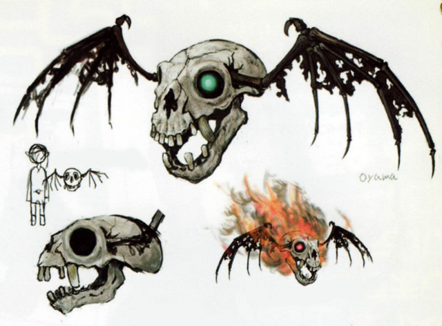 File:Twilight Princess Artwork Bubble & Red Bubble (Concept Artwork - Hyrule Historia).png