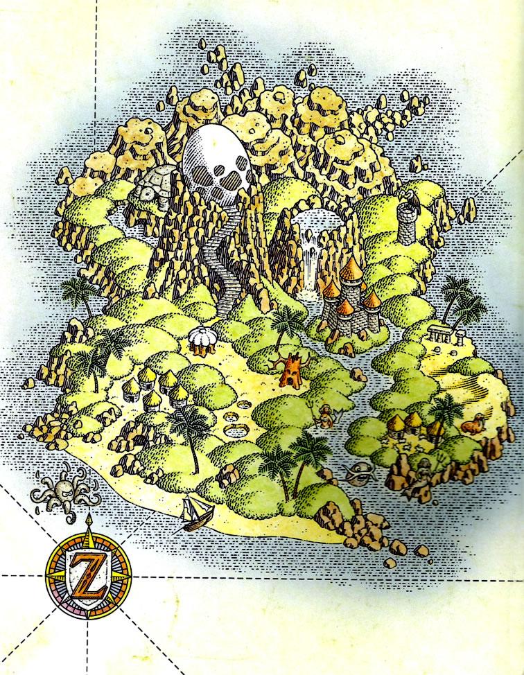 Koholint Island Zeldapedia Fandom Powered By Wikia