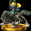 Super Smash Bros. for Wii U Wolf Link & Midna (Twilight Princess) Wolf Link (Trophy).png