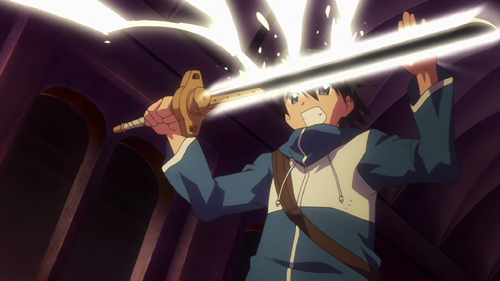 Season 1- Saito Absorbed Magic