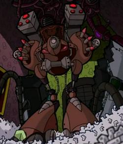Megadomer Stealth-Mech