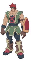 Character galaga
