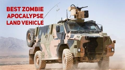 Using An Armoured Personnel Carrier In The Zombie Apocalypse