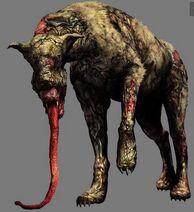 Zombie-hyena