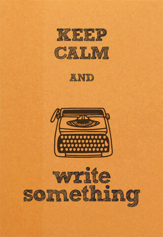 File:KEEP CALM AND WRITE SOMETHING.jpg