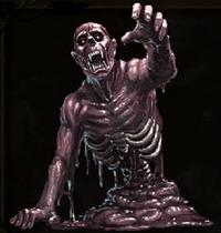 Melting Zombie
