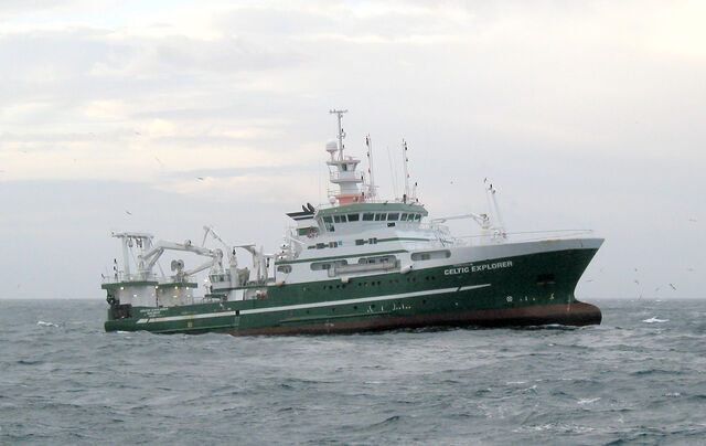 File:RV Celtic Explorer, Galway Bay, Ireland.jpg