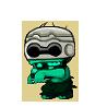 Robo Zombie Teal