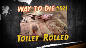 Toilet Rolled