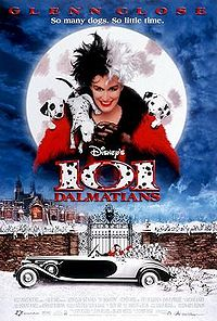 One hundred and one dalmatians live action