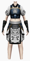 Fujin-king ancient armor-female