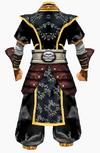 Guanyin-godsend armor-male-back