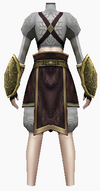 Fujin-death scream armor-female-back