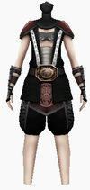 Fujin-dead god armor-female