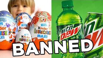 10 Banned Foods