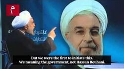 Iran President Gives Reporter History Lesson He'll Never Forget (English Translation)