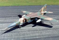 Mikoyan-Gurevich MiG-23MLD Flogger K USAF