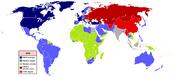 Cold War WorldMap 1953