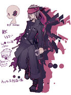 Nomiya character design