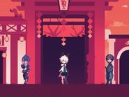 Komainu Shrine - Outside
