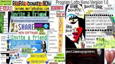Games (Ready) GentlemenGogoVEVO Program Lotto Keno