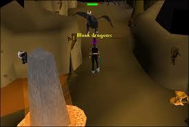 Black dragon vs player