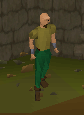 Bronze boots equipped