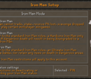 Ironman mode
