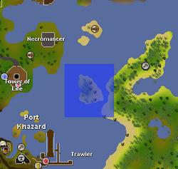 Moss Giant Island map
