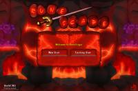 Inferno login screen
