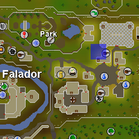 Hot cold clue - outside party room map