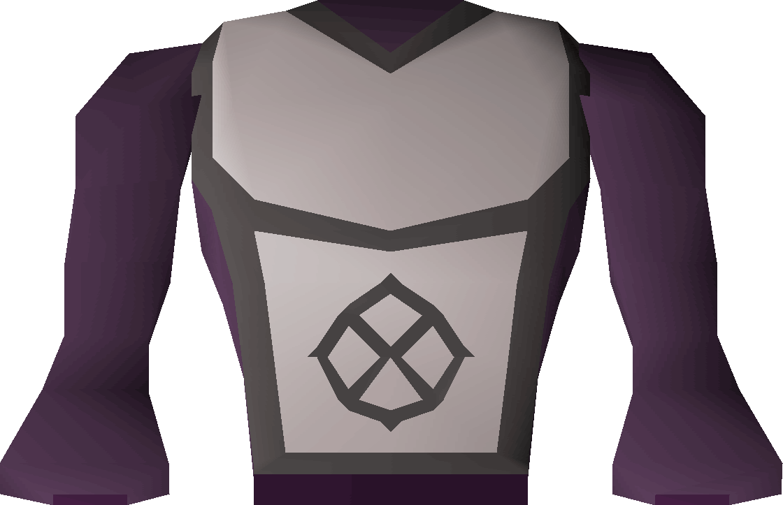 White apron in runescape - Robe Top Of Darkness Detail