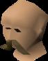 Waxed moustache
