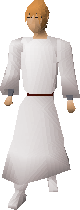 Desert robes equipped
