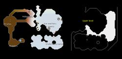Asgarnian Ice Dungeon map