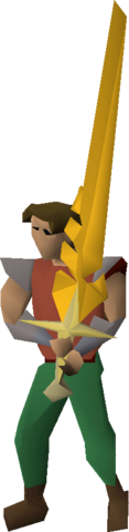 File:Saradomin's blessed sword equipped.png
