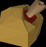Clue geode (medium) detail