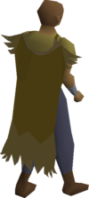 Eagle cape equipped
