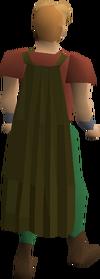 Fremennik brown cloak equipped
