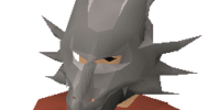 Steel dragon mask