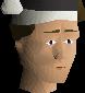 Black santa hat chathead