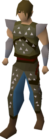 File:Studded leather armour (t) equipped.png