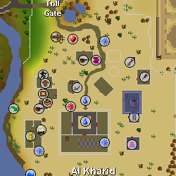Al-Kharid General Store location