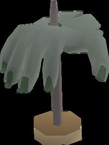 Crawling hand (mounted) built