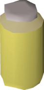 Jar of sand detail