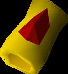 Ruby bracelet detail