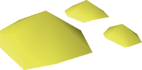 Volcanic sulphur detail