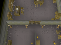 Cryptic clue - dig west varrock bank basement